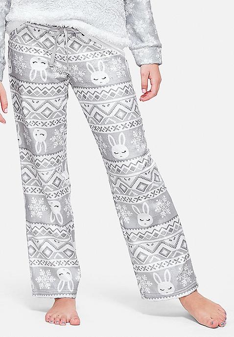 bb194a6065999 Snow Bunny Fair Isle Pajama Pants