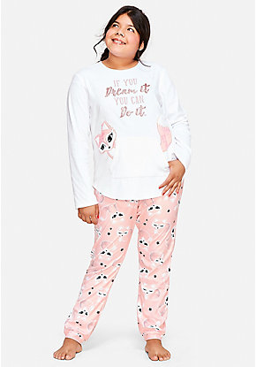 Dream It Fox Pajama Set