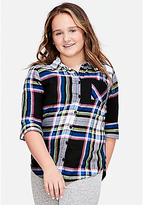 Tween Girls Plus Size Clothing Sizes 1012 24 Plus Justice