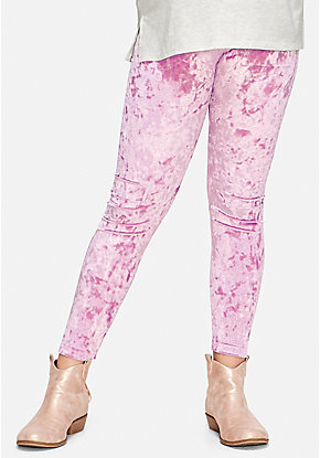 Shimmer Velour Leggings