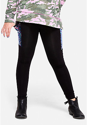 Flip Sequin Pocket Leggings