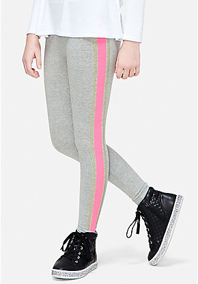 Side Stripe Leggings
