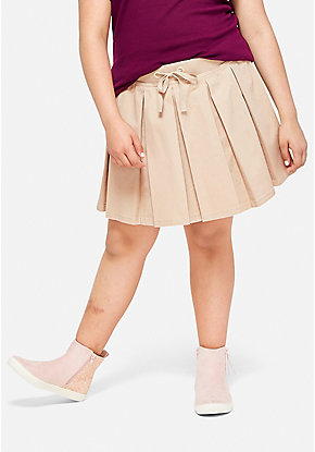 School Uniform Woven Pleated Skirt