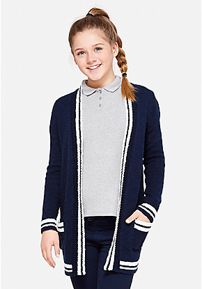 School Uniform Thick Cardigan