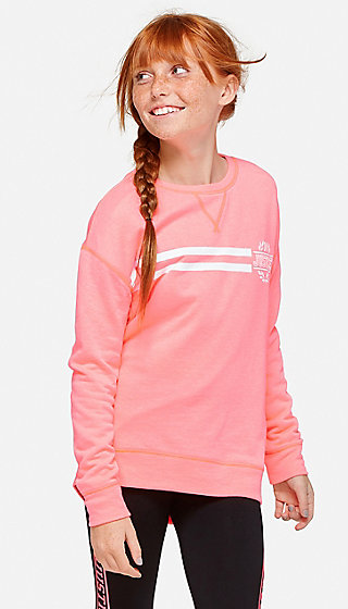 Logo Stripe Sweatshirt