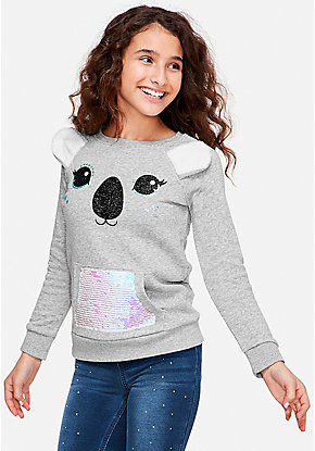 Critter Pocket Sweatshirt