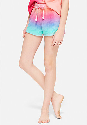 Rainbow Pajama Shorts
