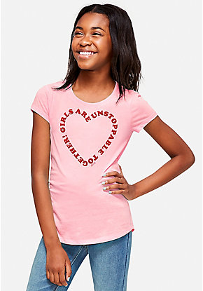 Unstoppable Heart Graphic Tee