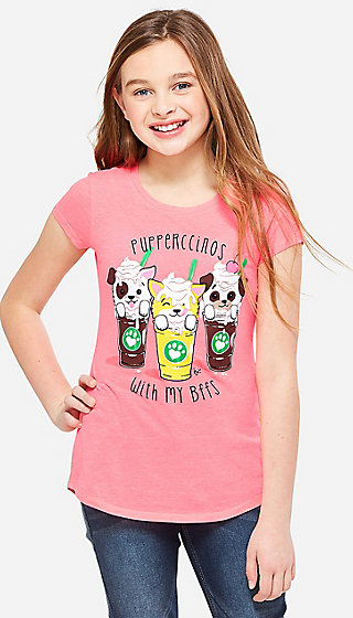 Pupperccinos Scented Graphic Tee