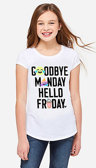 Goodbye Monday Graphic Tee