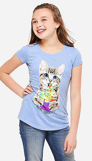 Cupcake Kitten Scented Graphic Tee
