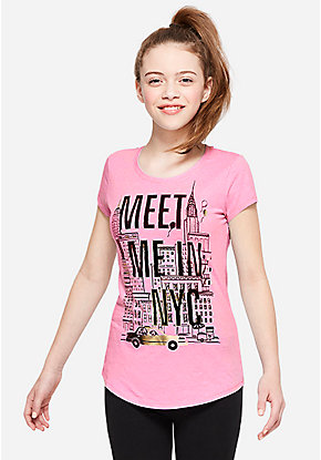 Meet Me in NYC Graphic Tee
