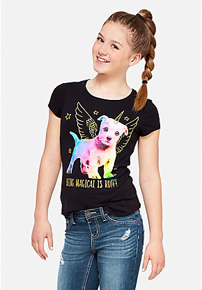 Magical Puppy Graphic Tee