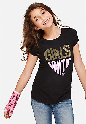 Girls Unite Graphic Tee