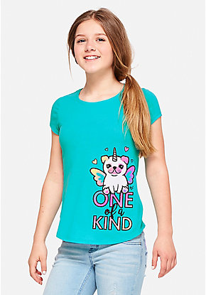 One of a Kind Pugicorn Graphic Tee