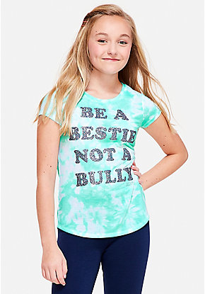 Be a Bestie Not a Bully Graphic Tee