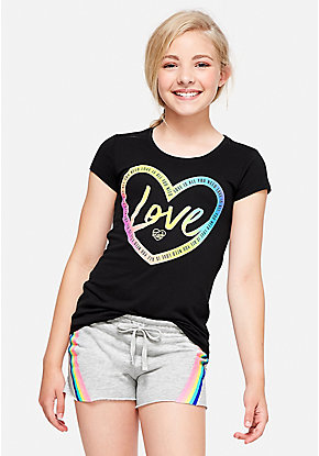 Love Logo Graphic Tee