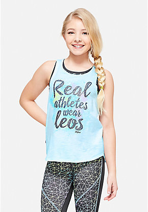 Real Athletes Wear Leos 2fer Tank