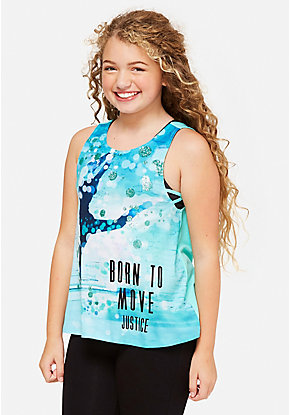 Born to Move 2fer Tank