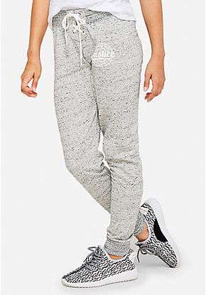 Lace-Up Logo Joggers