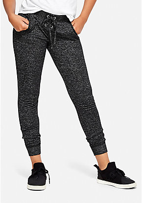 Snuggly Soft Lace Up Joggers