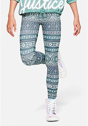 Pattern Lattice Leggings