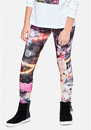 Cozy Photoreal Leggings
