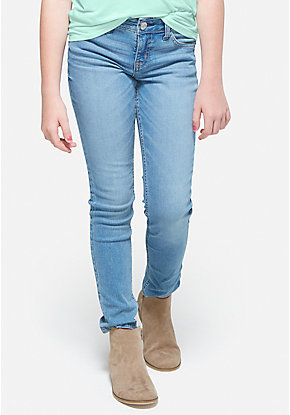 Woven Super Skinny Jeans