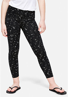 Foil Splatter Leggings