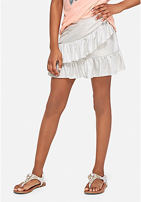 Mermaid Ruffle Skirt