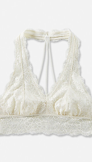 Lace T-Back Bralette