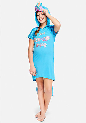 Be Mermazing Hooded Nightgown