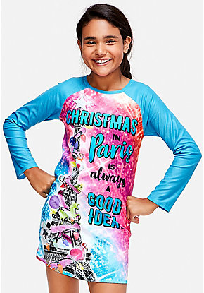 Christmas in Paris Nightgown