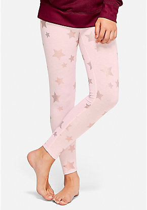 Shimmer Star Pajama Leggings