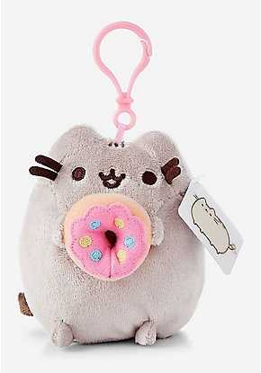Donut Pusheen Key Chain