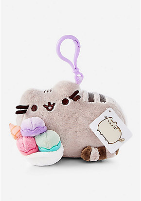 Ice Cream Pusheen Key Chain