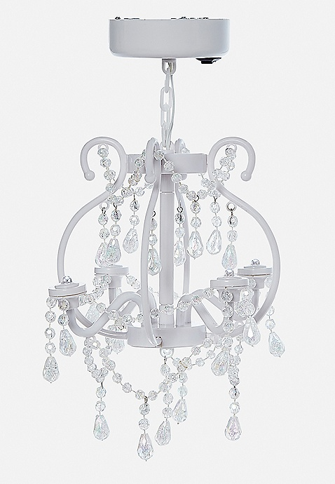 White locker chandelier justice school supplies white locker chandelier previous next mozeypictures Image collections