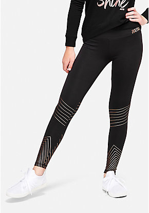 Shine Stripe Leggings