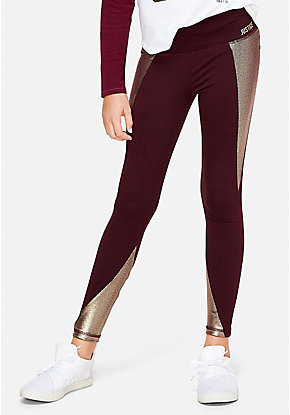 Foil High Waist Leggings