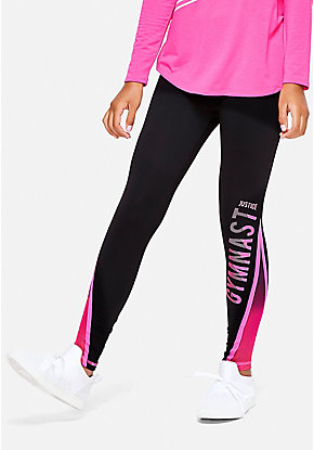 Gymnastics Mesh Leggings