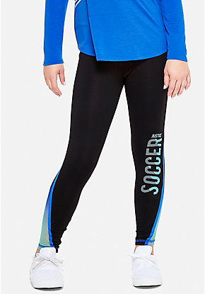 Soccer Mesh Leggings