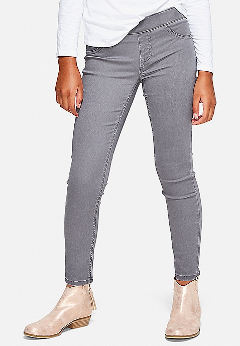 5bf1666297c10 Color Pull On Jean Leggings | Justice