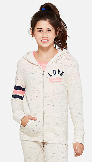 Love Justice Zip Up Hoodie