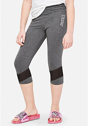 Mesh Crop Leggings