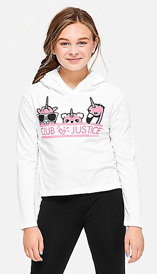 Club Justice Hooded Tee