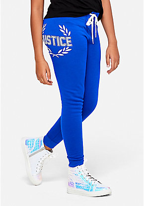 Logo Lace Up Joggers