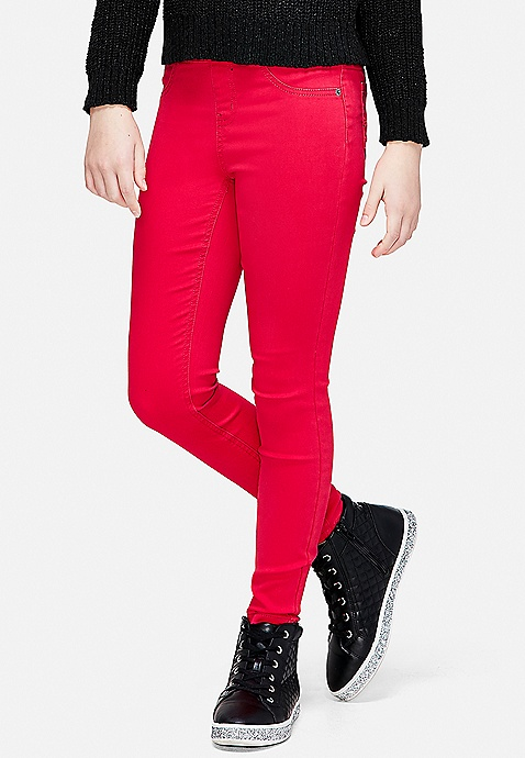 6d9ef47629b65 ... Color Pull On Jean Legging. Previous Next