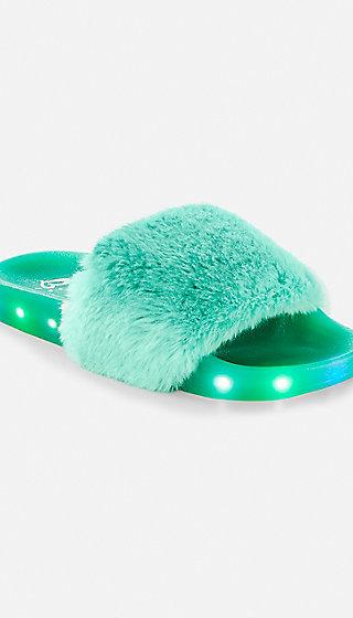 Slides Shoes Fluffy