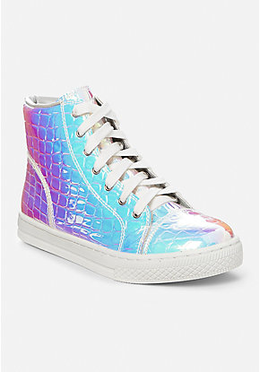 Holo Croc High Top Sneaker