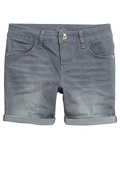 5d3fe88a87 ... Colored Mid Thigh Denim Shorts- Moos. Previous Next